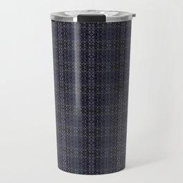 Backsplash Square Glass Spirals Travel Mug