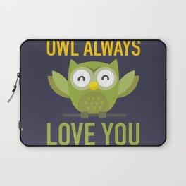 Owl Loves You Always Laptop Sleeve