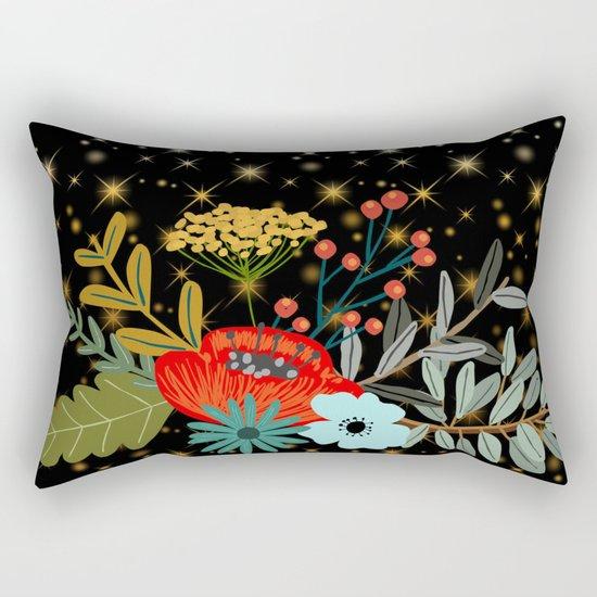 Floral bouquet #5 Rectangular Pillow