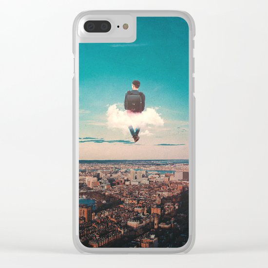 High In The Sky Clear iPhone Case