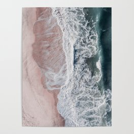 Crashing waves Poster
