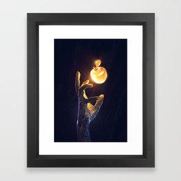 CONSUME Framed Art Print