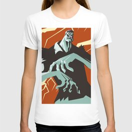 evil zombie monster creature T-shirt