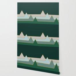Green Mountains #society6 #decor #buyart Wallpaper