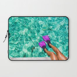Vacation in the Maldives for the winter holidays Laptop Sleeve