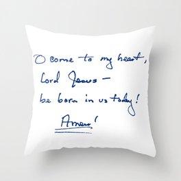Pillow, Front Throw Pillow