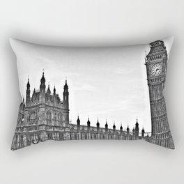 London Landscape Rectangular Pillow