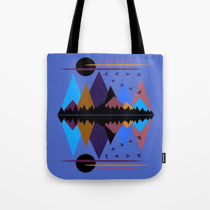 Geese On The Wing Tote Bag