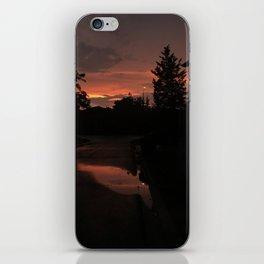 Sky on Fire iPhone Skin
