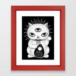 BAD LUCK Framed Art Print