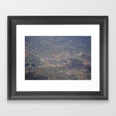 GEOgraphy IX Framed Art Print