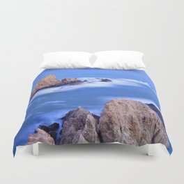 """Sirenas azules. Blue mermaids"" Duvet Cover"