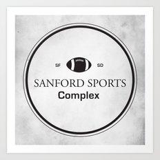 Sanford Sports Complex Art Print