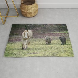 Tripper and The Goats Rug