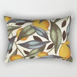 Lemons, Oranges & Pears Rectangular Pillow