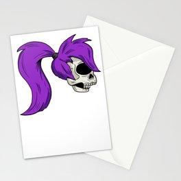 Leela Skull Stationery Cards