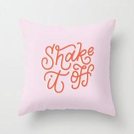 Shake It Off Throw Pillow