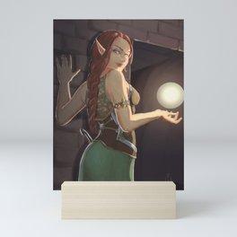 In the dungeon Mini Art Print