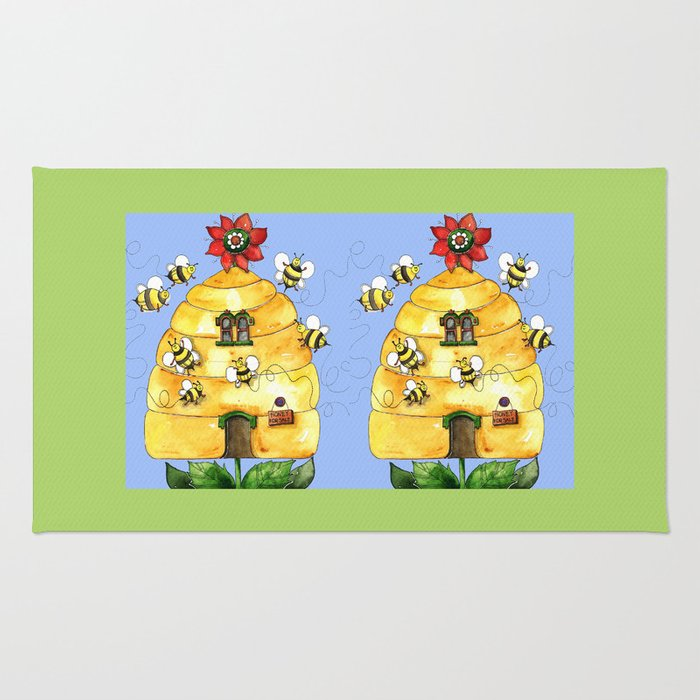 Busy Bees Rug