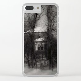 The Dead of Winter Clear iPhone Case