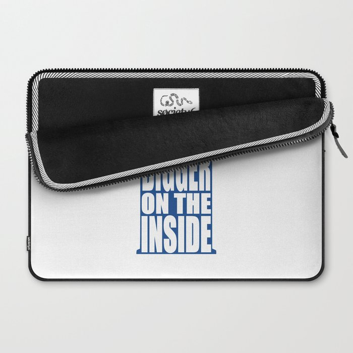 Bigger on the Inside Laptop Sleeve
