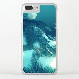 SUNKEN TREASURE Clear iPhone Case