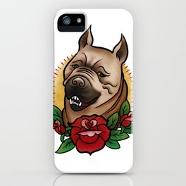 Mabari Love iPhone Case
