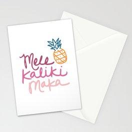 Mele Kaliki Maka Stationery Cards