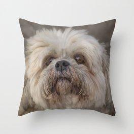 The Shih Tzu Throw Pillow