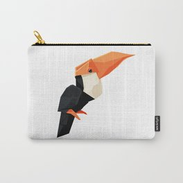 Origami Toucan Carry-All Pouch