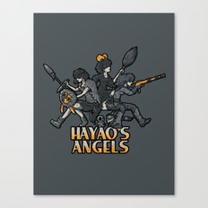 HAYAO'S ANGELS Canvas Print