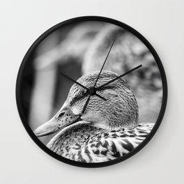 Duck trio Wall Clock