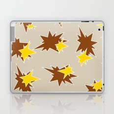 Stars (Brown & Gold on Sand) Laptop & iPad Skin
