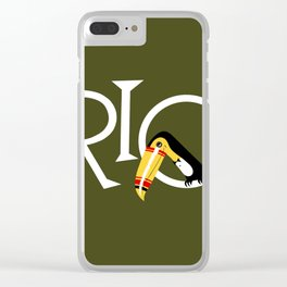 Travel to Rio Clear iPhone Case