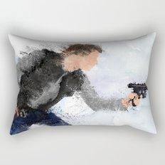 The Smuggler ( Splatter ) Rectangular Pillow