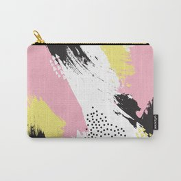 brush strokes Carry-All Pouch