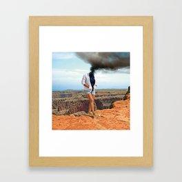 Close to the Edge Framed Art Print