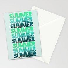 Summer Summer Summer Stationery Cards