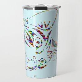 Behold the Wondrous Unicat! Travel Mug