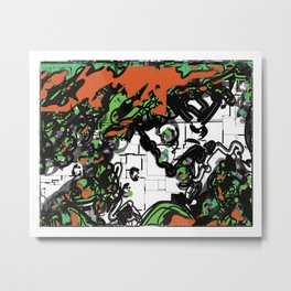 Pakal the Great Metal Print