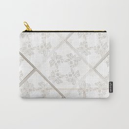 Squiggles Gray Carry-All Pouch