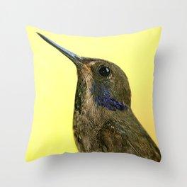 Colibri delphinae Throw Pillow
