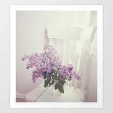 For The Love Of Violet Art Print