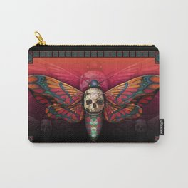 """Death colored moth"" Carry-All Pouch"
