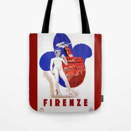 Visit Florence Tote Bag