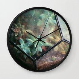 Succulent No.2 Wall Clock