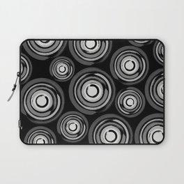 Enso Circles - Zen Circles pattern #2 Laptop Sleeve