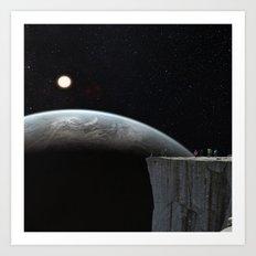 Galactic Adventure Art Print