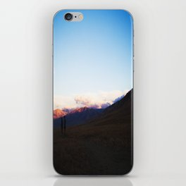 Red Mountains iPhone Skin