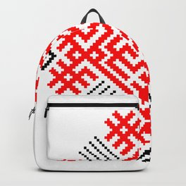 Rodimich - Antlers - Slavic Symbol #1 Backpack